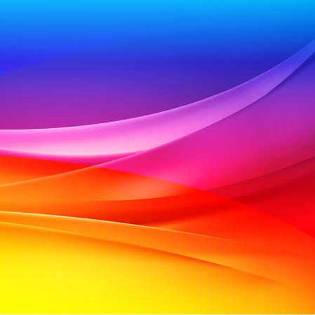 leuchtend: farbenfrohe Hintergründe abstrakte Vektor- Illustration