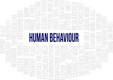 Human Behaviour - Word Cloud Stock Vector - 23240773