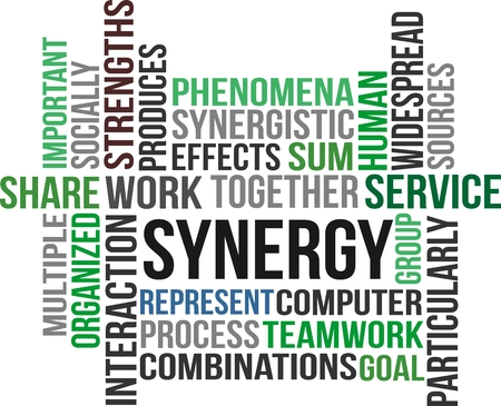 widespread: SYNERGY - word cloud