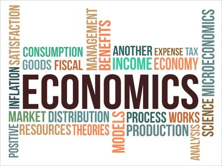 ECONOMICS - word cloud