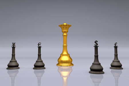 The Currency Chess Game photo