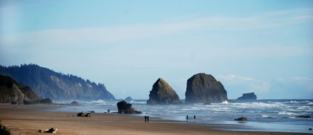 cannon beach, oregon, usa photo