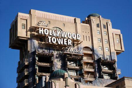 Disneyland, California, May, 2010, Hollywood tower hotel