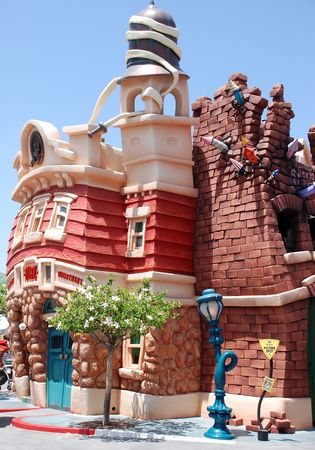 mickeys toontown in disneyland california