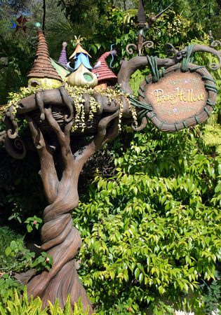 Disneyland, California, May, 2010, Pixie Hollow