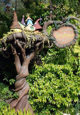 Disneyland, California, May, 2010, Pixie Hollow