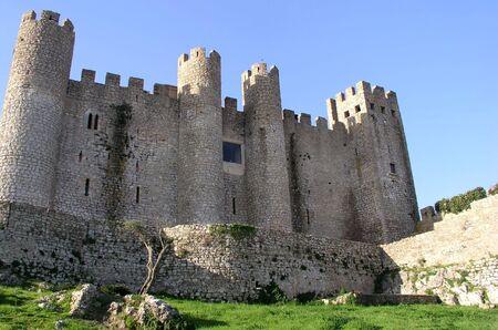 Obidos Castle detail, Portugal