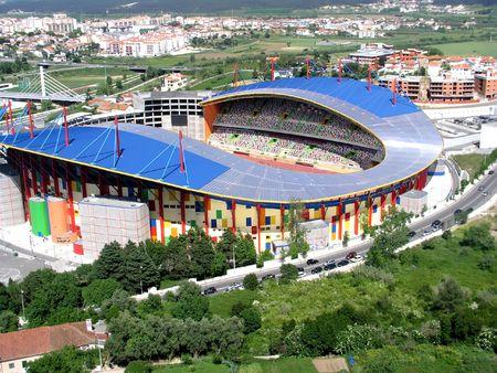 olympic stadium Leiria - Portugal  - editorial use