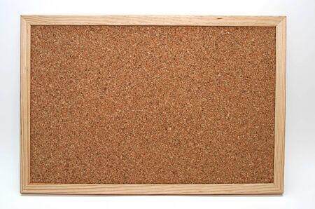 empty cork board in white background Stock Photo - 4008954