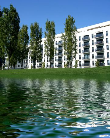 apartments near lake - well-being symbols