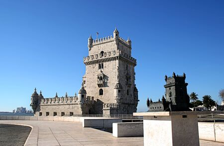 Belem Tower in Lisbon, near River Tagus, Portugal Stock Photo - 4171743