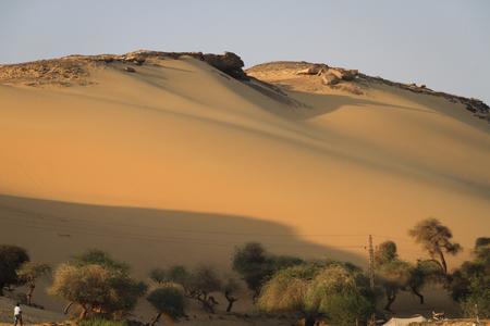 desierto del sahara: Desierto del Sáhara  Foto de archivo