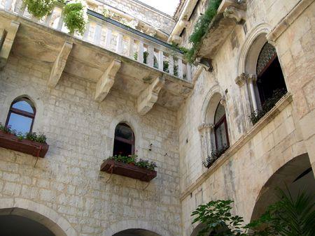 croatian: Ancient croatian architecture, Trogir, Croatia
