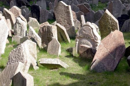 churchyard: Old abandoned churchyard
