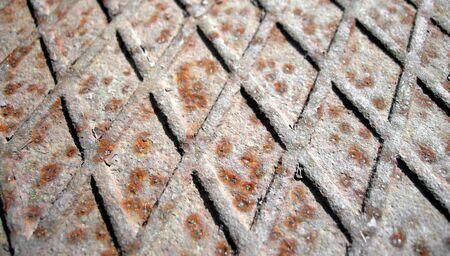 corten: Rusted steel background Stock Photo
