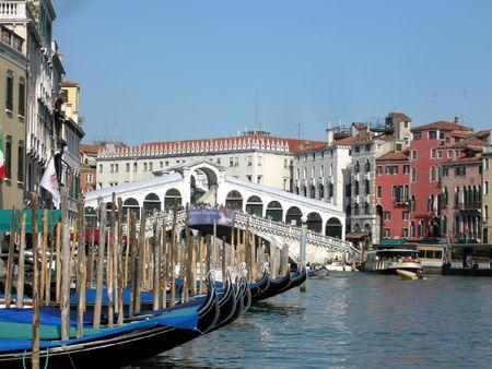 Town of Venice (Venezia) in Italy