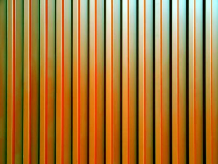 Corrugated steel sheet useful as a background -shining metal surface with light reflections Stock Photo - 5398459