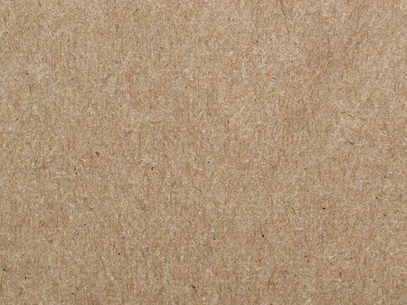 Brown cardboard sheet useful as a background