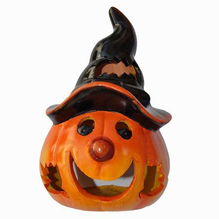 Halloween Jack o lantern orange pumpking lamp photo
