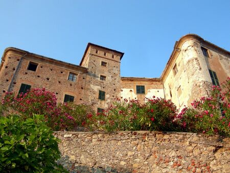 Castello di Balestrino (Balestrin Castle), Liguria, Italy Stock Photo - 5822932