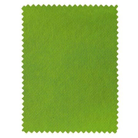 green clothes: Fabric sample isolated over a white background Stock Photo