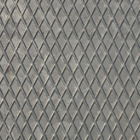 Diamond steel plate useful as a background photo