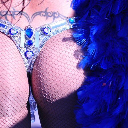 Brazilian carnival girl photo