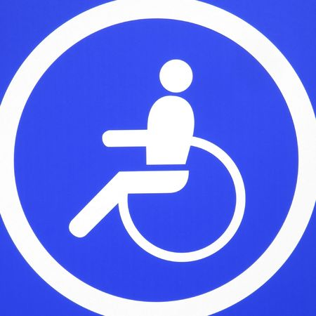 Disabled sign photo