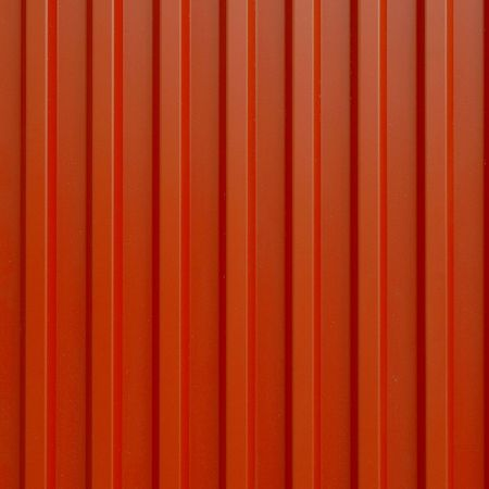 Corrugated steel sheet useful as a background Stock Photo - 6691894