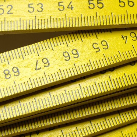 Carpenter's ruler Stock Photo - 6718135