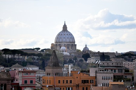 Basilica church of Saint Peter (San Pietro), Rome, Italy photo