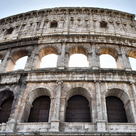 The Colosseum or Coliseum (Colosseo) in Rome - high dynamic range HDR