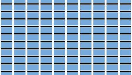 botswana: Seamless tiled flag illustration useful as background - Botswana