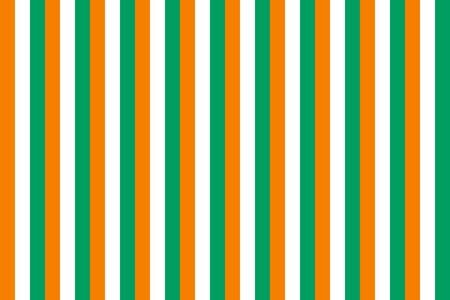 cote ivoire: Seamless tiled flag illustration useful as background - Cote Ivoire