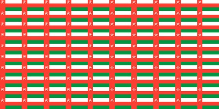 oman background: Seamless tiled flag illustration useful as background - Oman