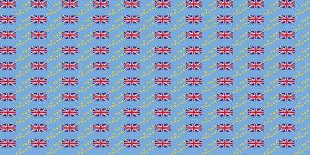 tuvalu: Seamless tiled flag illustration useful as background - Tuvalu