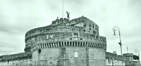 The Castel Sant Angelo Mausoleum of Adrian, Rome, Italy -  photo