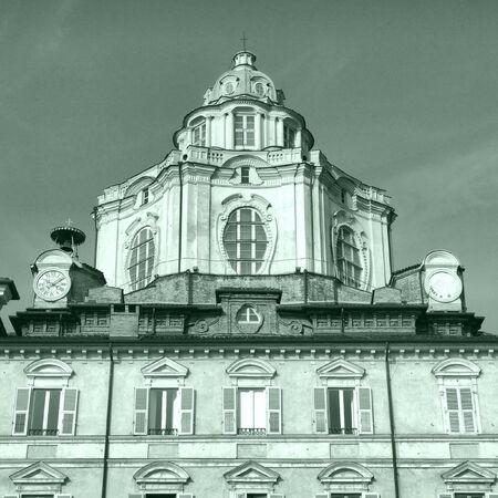 The church of San Lorenzo, Turin, Italy  photo