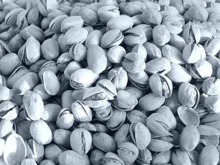 Detail of Pistachio nuts food in shells Stock Photo - 9468667