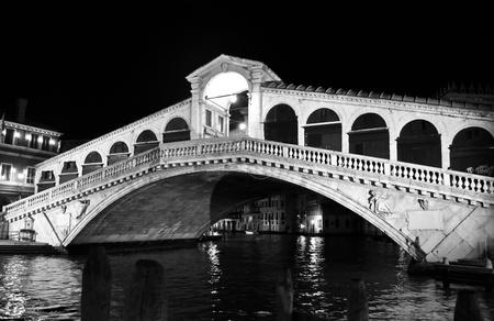 rialto: Ponte di Rialto bridge in Venice (Venezia), Italy