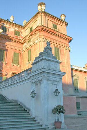 racconigi: Castello di Racconigi baroque castle in Piedmont, Italy