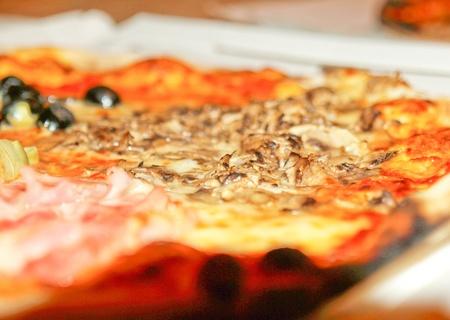 Italian Pizza Le Quattro Stagioni (The Four Seasons) photo