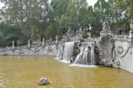 mesi: Fontana dei Dodici Mesi fountain in Parco del Valentino, Turin