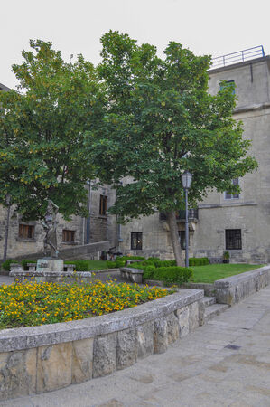 cava: Cava San Marino Balestreri Stock Photo