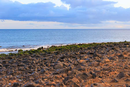 Lanzarote beach, a Spanish island on the Canary Islands in the Atlantic Ocean off the coast of Africa Stock Photo - 28798934