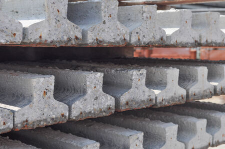 reinforced: Prestressed precast pretensioned reinforced concrete beam