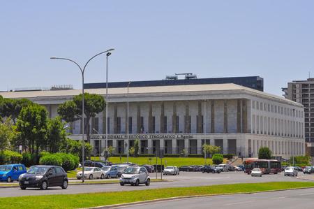 prehistoria: ROMA, Italia - 23 de junio 2014: Museo Nacional Pigorini de Prehistoria y Etnograf�a