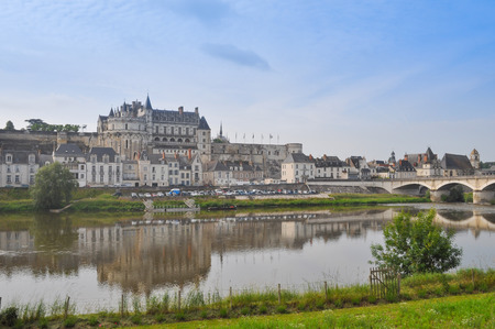 et: Royal Chateau in Amboise in the Indre et Loire departement of the Loire Valley in France Editorial