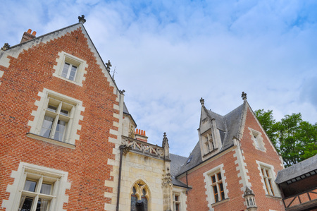 House of Leonardo da Vinci in Amboise in France