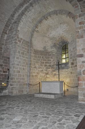 mont saint michel: MONT SAINT MICHEL, FRANCE - JUNE 04, 2014: Mont Saint Michel Abbey and fortifications in Normandy France